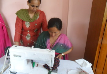 Basic and advanced sewing training, Lalitpur