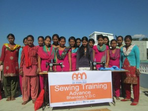 Advanced Sewing Training, Chitwan