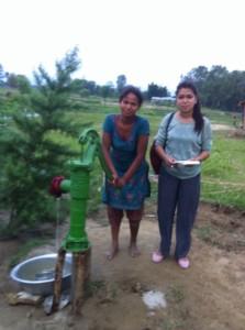 Water tap in chitwan