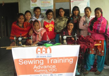 Basic Sewing Training: Chitwan